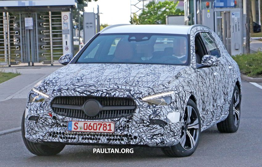 SPYSHOTS: Mercedes-Benz C-Class station wagon seen testing; 'X206' All-Terrain variant to join line-up Image #1158610