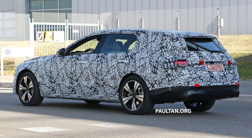 SPYSHOTS: Mercedes-Benz C-Class station wagon seen testing; 'X206' All-Terrain variant to join line-up Image #1158604
