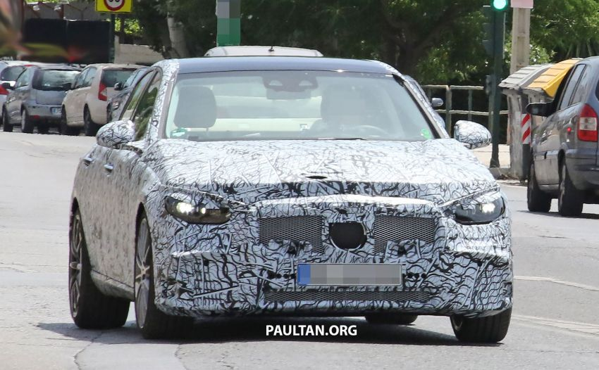 SPIED: Mercedes-AMG C53 seen in hot weather tests; possible 2.0L turbo replacement for M276 3.0L V6? Image #1155593