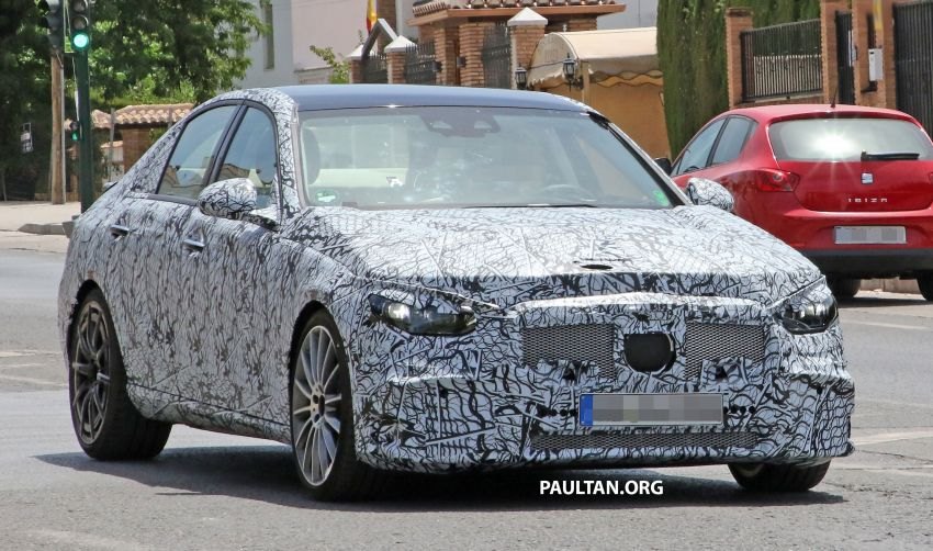 SPIED: Mercedes-AMG C53 seen in hot weather tests; possible 2.0L turbo replacement for M276 3.0L V6? Image #1155591
