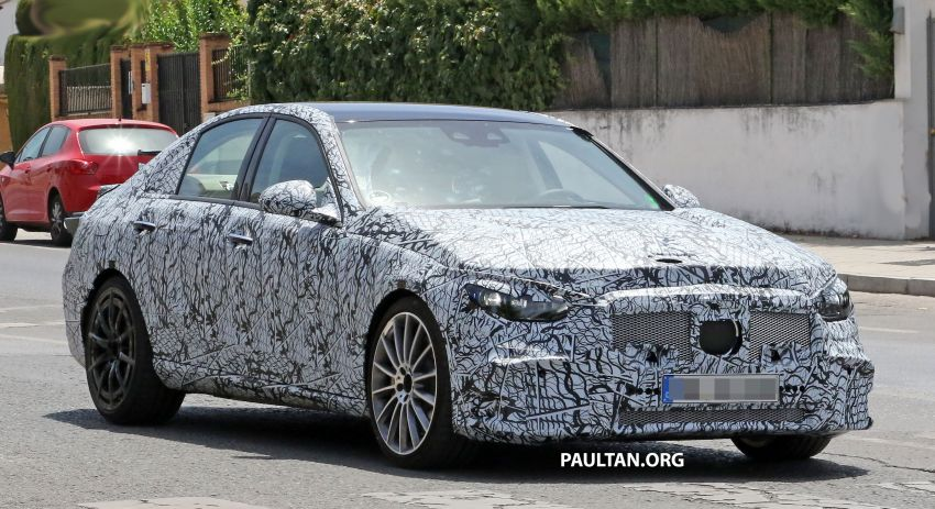 SPIED: Mercedes-AMG C53 seen in hot weather tests; possible 2.0L turbo replacement for M276 3.0L V6? Image #1155590