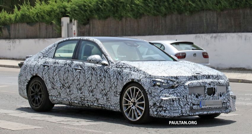 SPIED: Mercedes-AMG C53 seen in hot weather tests; possible 2.0L turbo replacement for M276 3.0L V6? Image #1155589