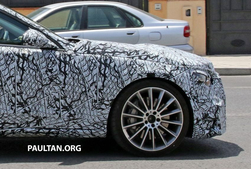 SPIED: Mercedes-AMG C53 seen in hot weather tests; possible 2.0L turbo replacement for M276 3.0L V6? Image #1155586