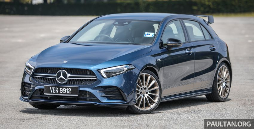 GALLERY: W177 Mercedes-AMG A35 4Matic Edition 1 hatchback – from RM367k; 2.0L turbo; 306 PS, 400 Nm Image #1158397