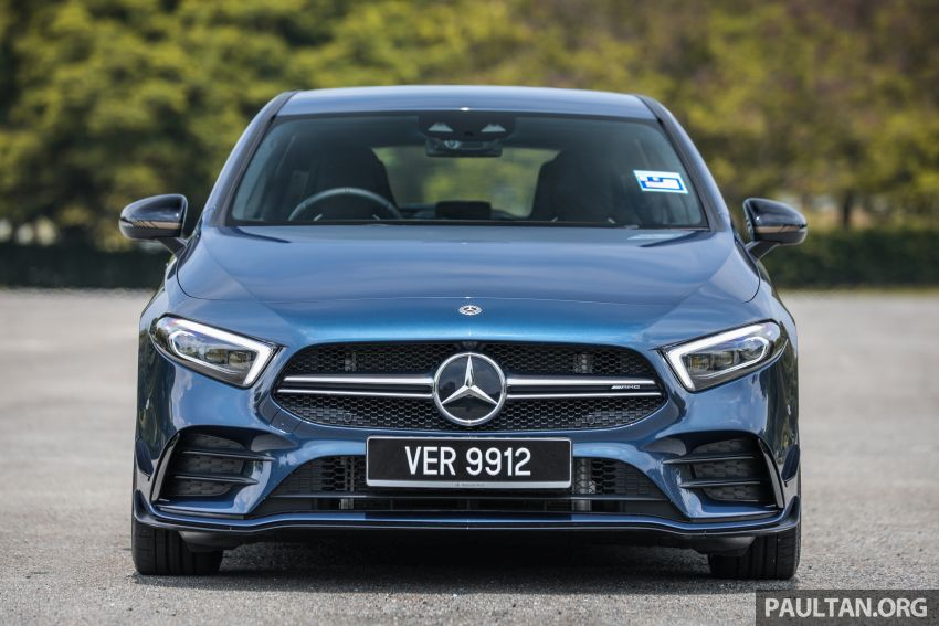 GALLERY: W177 Mercedes-AMG A35 4Matic Edition 1 hatchback – from RM367k; 2.0L turbo; 306 PS, 400 Nm Image #1158406