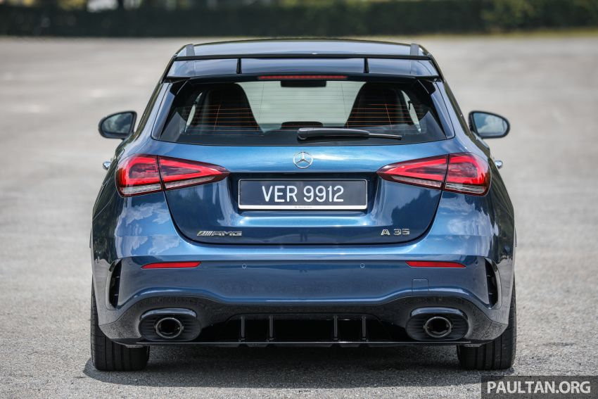 GALLERY: W177 Mercedes-AMG A35 4Matic Edition 1 hatchback – from RM367k; 2.0L turbo; 306 PS, 400 Nm Image #1158407