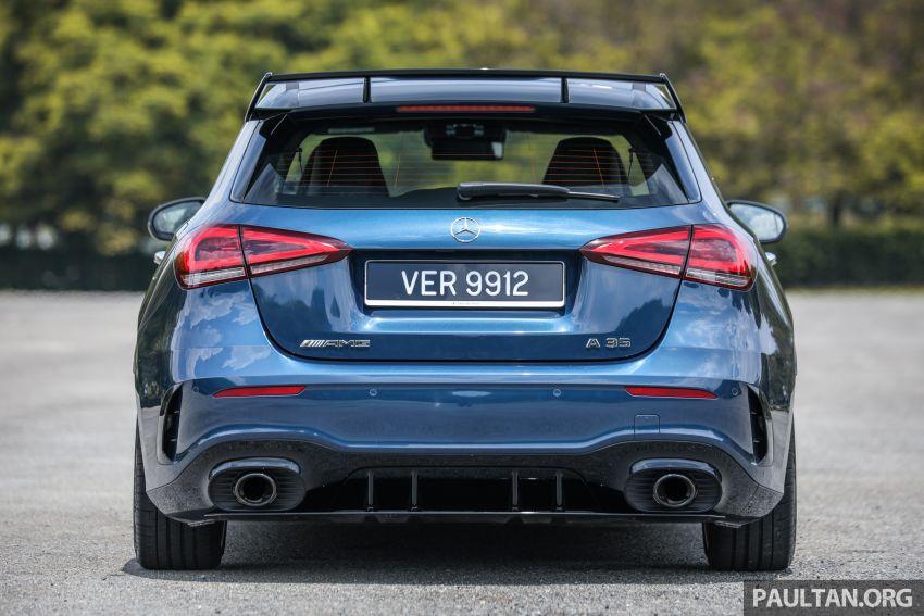 GALERI: Mercedes-AMG A35 4Matic Edition 1 W177 — harga dari RM367k, 2.0L turbo, 306 PS / 400 Nm Image #1158803