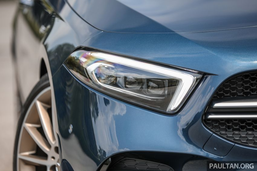 GALLERY: W177 Mercedes-AMG A35 4Matic Edition 1 hatchback – from RM367k; 2.0L turbo; 306 PS, 400 Nm Image #1158412