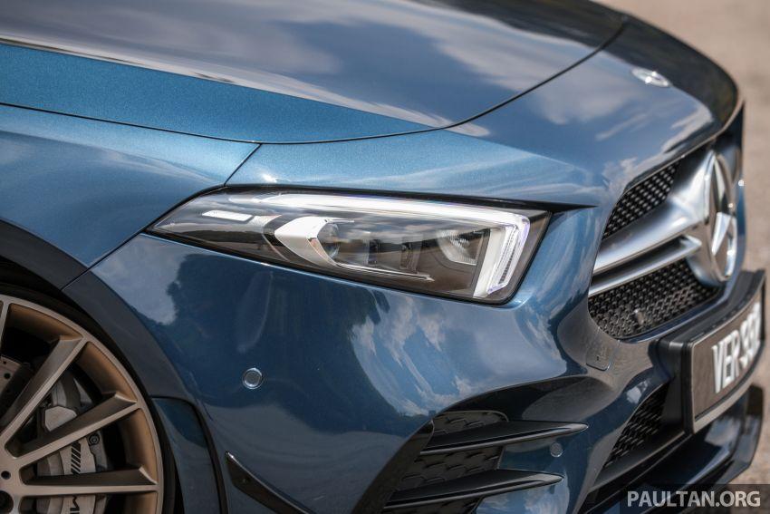 GALERI: Mercedes-AMG A35 4Matic Edition 1 W177 — harga dari RM367k, 2.0L turbo, 306 PS / 400 Nm Image #1158808