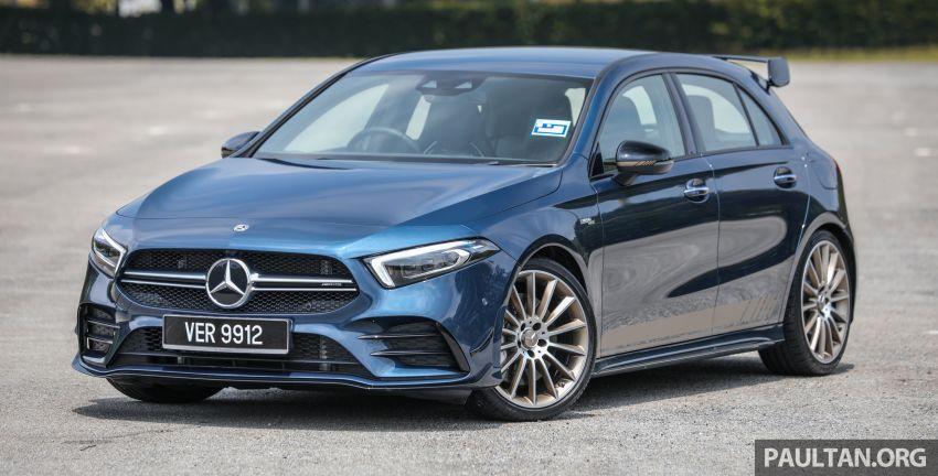 GALERI: Mercedes-AMG A35 4Matic Edition 1 W177 — harga dari RM367k, 2.0L turbo, 306 PS / 400 Nm Image #1158792