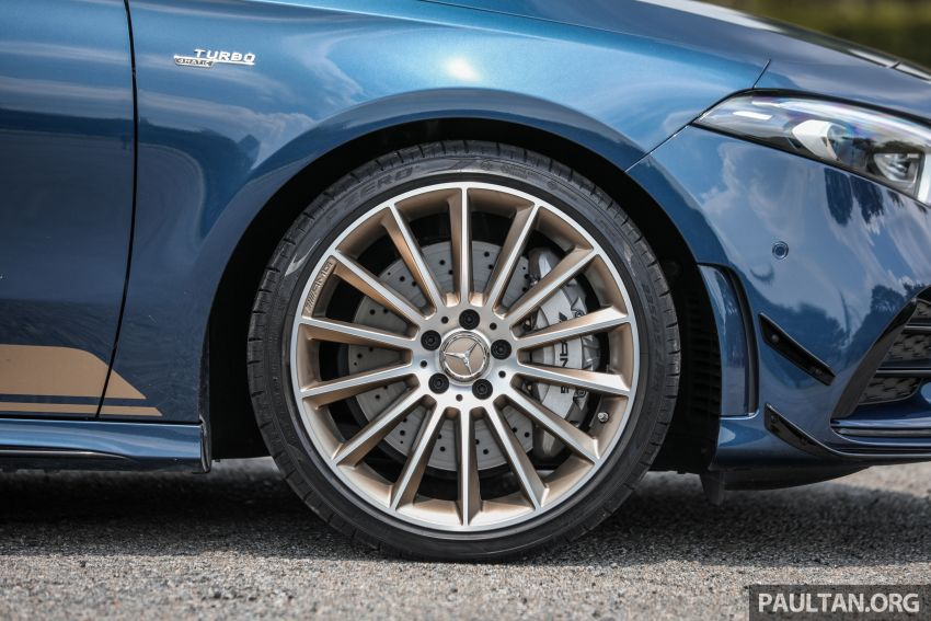 GALLERY: W177 Mercedes-AMG A35 4Matic Edition 1 hatchback – from RM367k; 2.0L turbo; 306 PS, 400 Nm Image #1158418