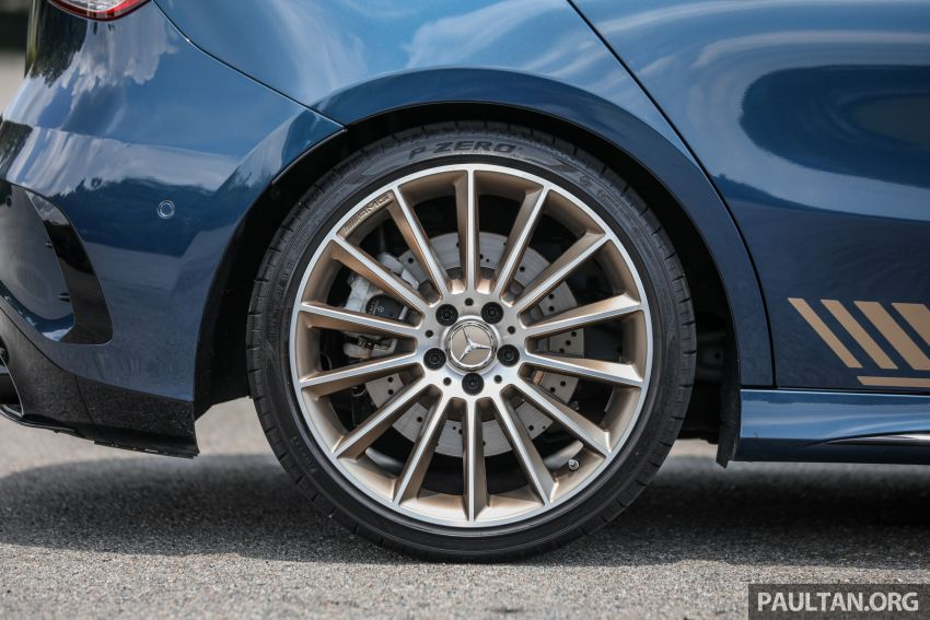 GALLERY: W177 Mercedes-AMG A35 4Matic Edition 1 hatchback – from RM367k; 2.0L turbo; 306 PS, 400 Nm Image #1158424