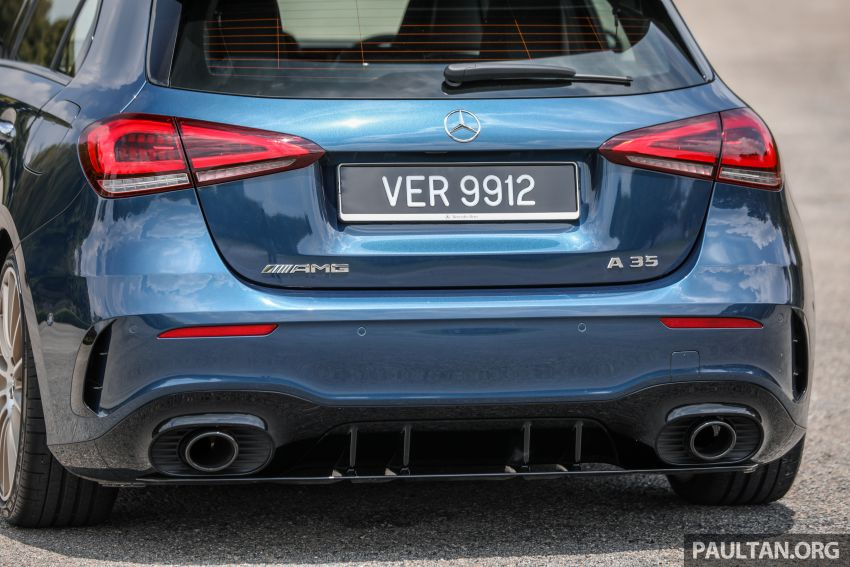 GALLERY: W177 Mercedes-AMG A35 4Matic Edition 1 hatchback – from RM367k; 2.0L turbo; 306 PS, 400 Nm Image #1158425