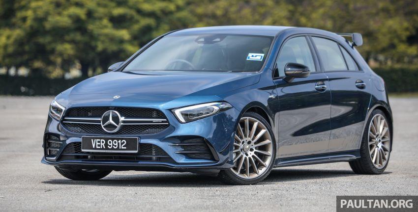 GALERI: Mercedes-AMG A35 4Matic Edition 1 W177 — harga dari RM367k, 2.0L turbo, 306 PS / 400 Nm Image #1158793