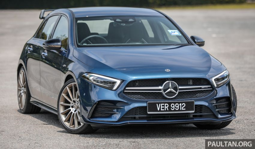 GALLERY: W177 Mercedes-AMG A35 4Matic Edition 1 hatchback – from RM367k; 2.0L turbo; 306 PS, 400 Nm Image #1158399