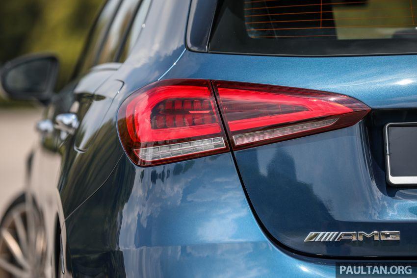 GALERI: Mercedes-AMG A35 4Matic Edition 1 W177 — harga dari RM367k, 2.0L turbo, 306 PS / 400 Nm Image #1158821