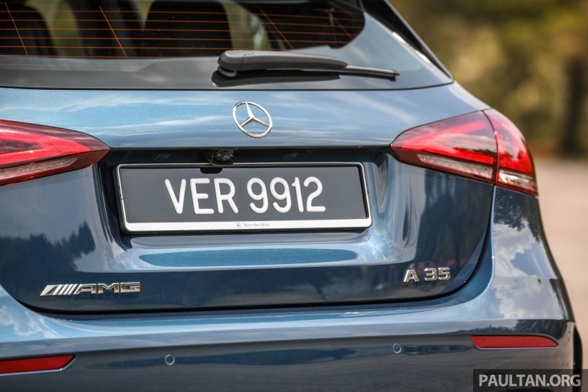 GALLERY: W177 Mercedes-AMG A35 4Matic Edition 1 hatchback – from RM367k; 2.0L turbo; 306 PS, 400 Nm Image #1158429