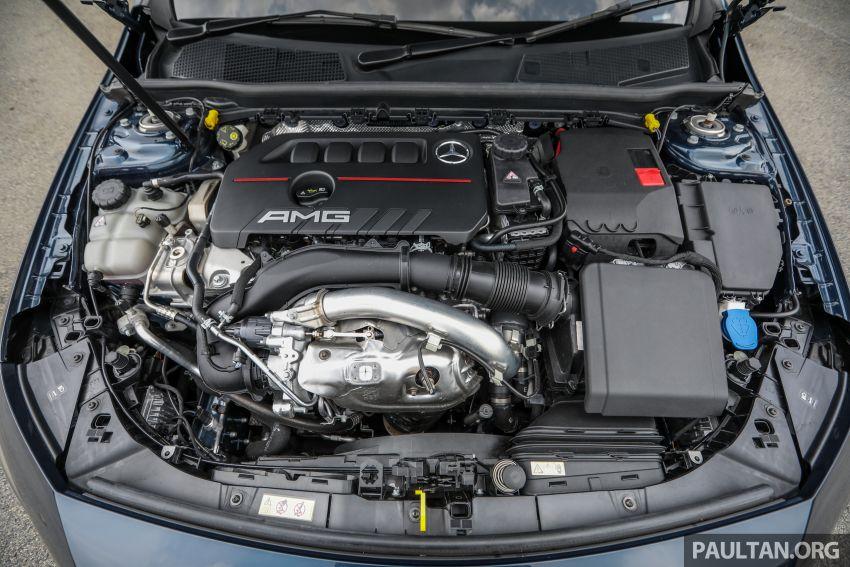 GALERI: Mercedes-AMG A35 4Matic Edition 1 W177 — harga dari RM367k, 2.0L turbo, 306 PS / 400 Nm Image #1158829