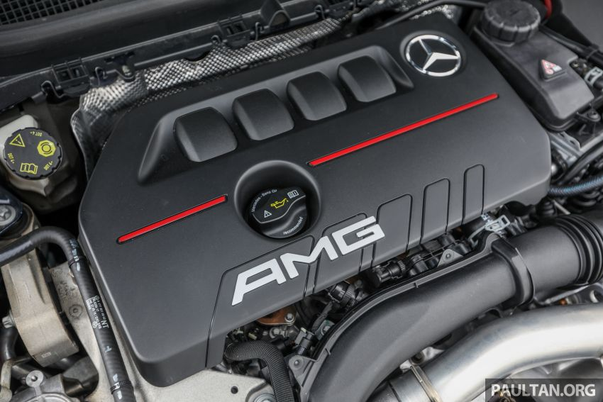 GALLERY: W177 Mercedes-AMG A35 4Matic Edition 1 hatchback – from RM367k; 2.0L turbo; 306 PS, 400 Nm Image #1158435