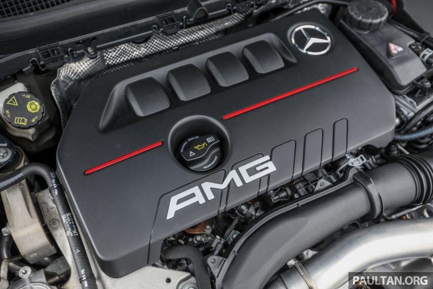 GALERI: Mercedes-AMG A35 4Matic Edition 1 W177 — harga dari RM367k, 2.0L turbo, 306 PS / 400 Nm Image #1158830
