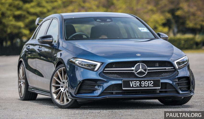 GALLERY: W177 Mercedes-AMG A35 4Matic Edition 1 hatchback – from RM367k; 2.0L turbo; 306 PS, 400 Nm Image #1158400
