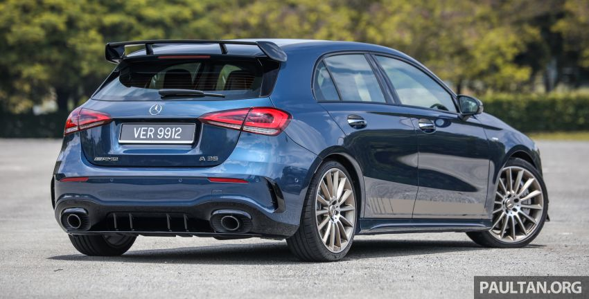 GALLERY: W177 Mercedes-AMG A35 4Matic Edition 1 hatchback – from RM367k; 2.0L turbo; 306 PS, 400 Nm Image #1158402