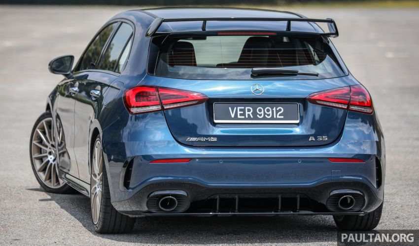 GALLERY: W177 Mercedes-AMG A35 4Matic Edition 1 hatchback – from RM367k; 2.0L turbo; 306 PS, 400 Nm Image #1158403