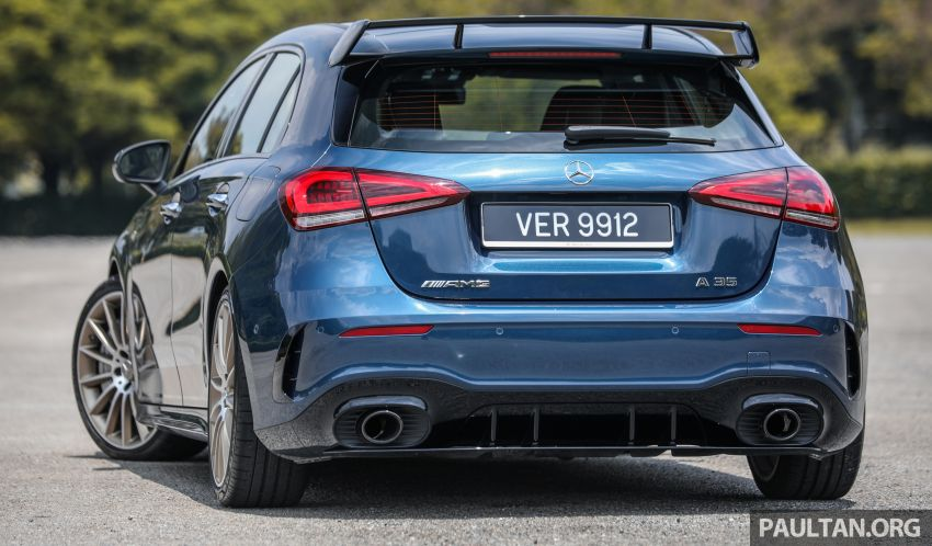 GALLERY: W177 Mercedes-AMG A35 4Matic Edition 1 hatchback – from RM367k; 2.0L turbo; 306 PS, 400 Nm Image #1158404