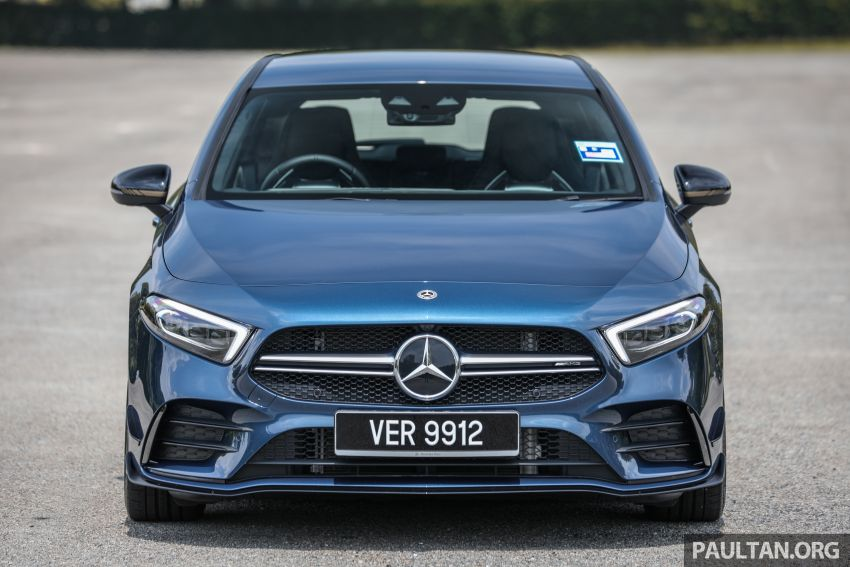 GALLERY: W177 Mercedes-AMG A35 4Matic Edition 1 hatchback – from RM367k; 2.0L turbo; 306 PS, 400 Nm Image #1158405