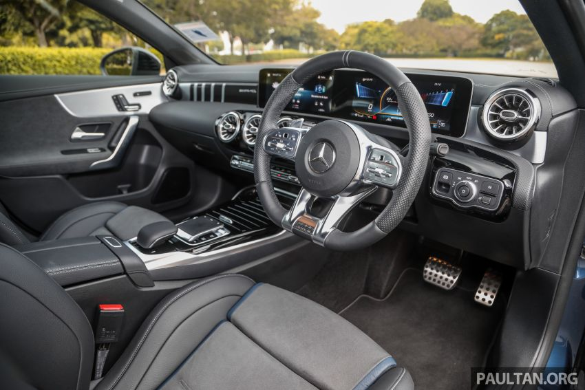 GALLERY: W177 Mercedes-AMG A35 4Matic Edition 1 hatchback – from RM367k; 2.0L turbo; 306 PS, 400 Nm Image #1158436