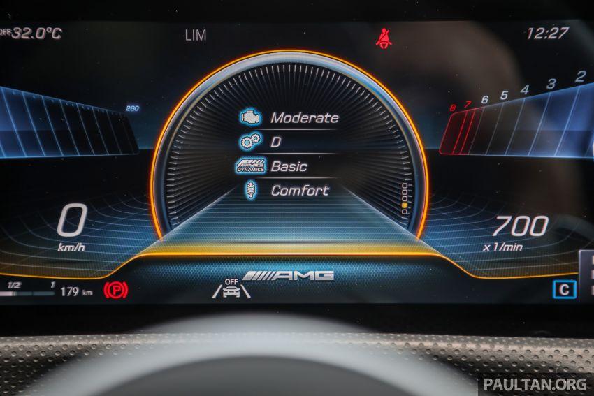 GALERI: Mercedes-AMG A35 4Matic Edition 1 W177 — harga dari RM367k, 2.0L turbo, 306 PS / 400 Nm Image #1158845