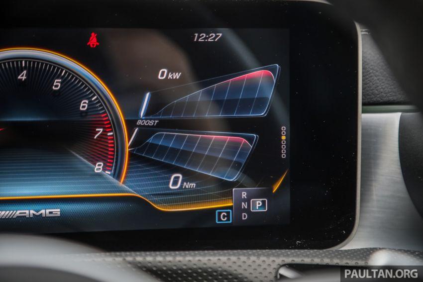 GALERI: Mercedes-AMG A35 4Matic Edition 1 W177 — harga dari RM367k, 2.0L turbo, 306 PS / 400 Nm Image #1158849