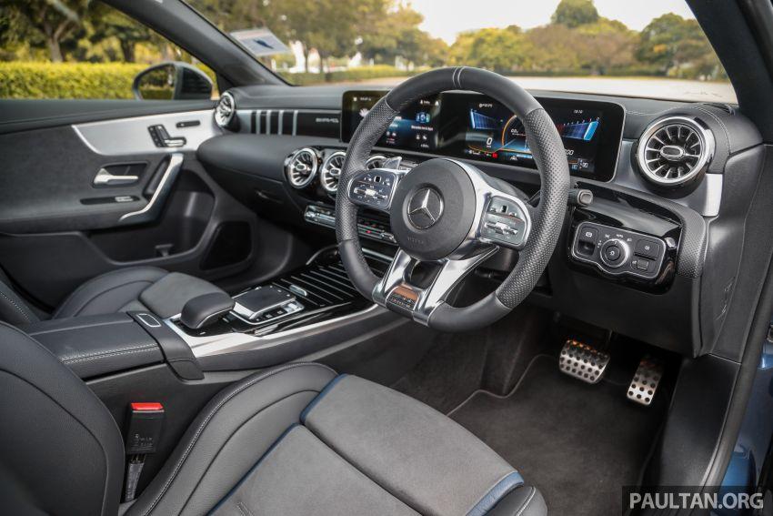 GALERI: Mercedes-AMG A35 4Matic Edition 1 W177 — harga dari RM367k, 2.0L turbo, 306 PS / 400 Nm Image #1158831