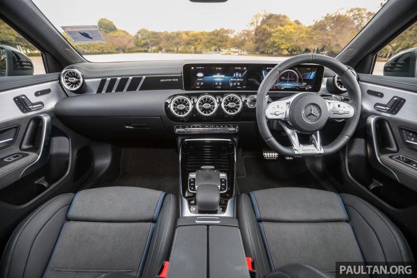 GALERI: Mercedes-AMG A35 4Matic Edition 1 W177 — harga dari RM367k, 2.0L turbo, 306 PS / 400 Nm Image #1158832