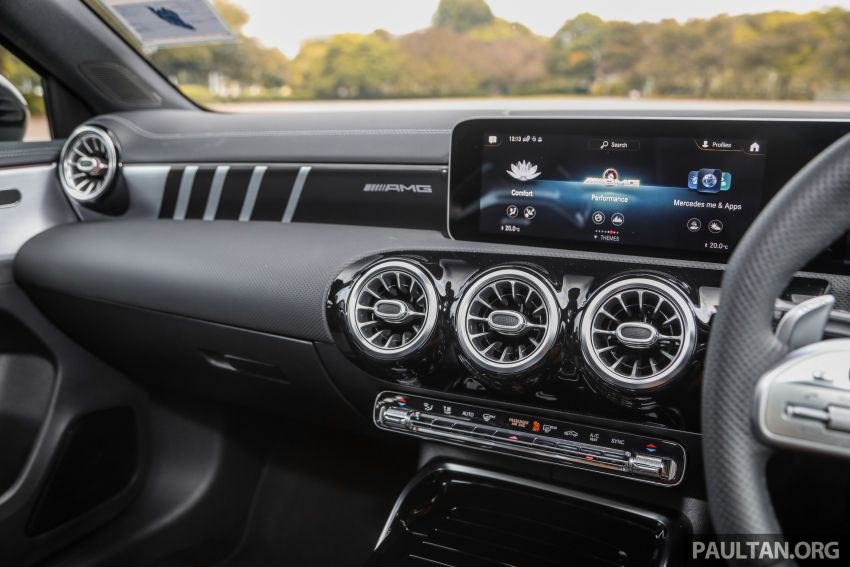GALLERY: W177 Mercedes-AMG A35 4Matic Edition 1 hatchback – from RM367k; 2.0L turbo; 306 PS, 400 Nm Image #1158465