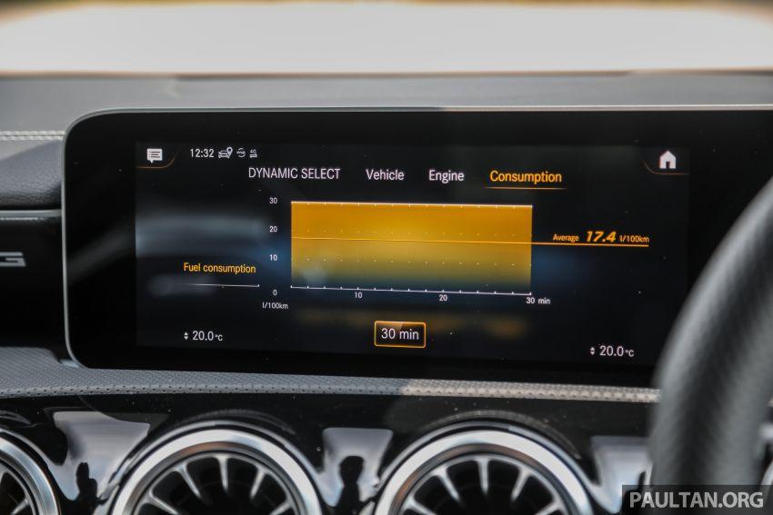GALERI: Mercedes-AMG A35 4Matic Edition 1 W177 — harga dari RM367k, 2.0L turbo, 306 PS / 400 Nm Image #1158866