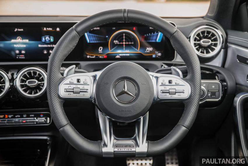 GALERI: Mercedes-AMG A35 4Matic Edition 1 W177 — harga dari RM367k, 2.0L turbo, 306 PS / 400 Nm Image #1158833