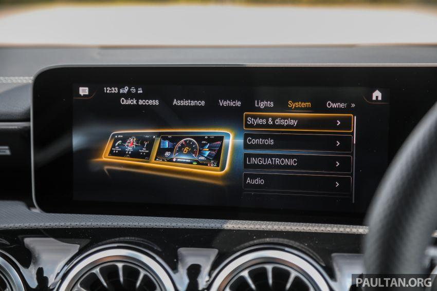 GALERI: Mercedes-AMG A35 4Matic Edition 1 W177 — harga dari RM367k, 2.0L turbo, 306 PS / 400 Nm Image #1158872
