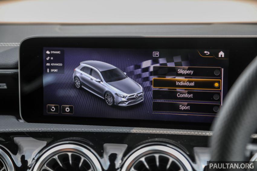 GALERI: Mercedes-AMG A35 4Matic Edition 1 W177 — harga dari RM367k, 2.0L turbo, 306 PS / 400 Nm Image #1158875