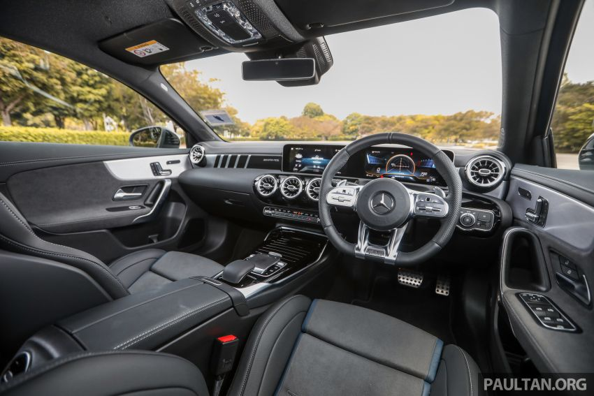 GALLERY: W177 Mercedes-AMG A35 4Matic Edition 1 hatchback – from RM367k; 2.0L turbo; 306 PS, 400 Nm Image #1158499