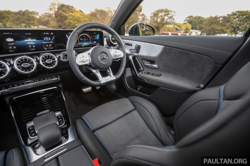 GALLERY: W177 Mercedes-AMG A35 4Matic Edition 1 hatchback – from RM367k; 2.0L turbo; 306 PS, 400 Nm Image #1158500