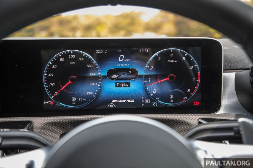 GALERI: Mercedes-AMG A35 4Matic Edition 1 W177 — harga dari RM367k, 2.0L turbo, 306 PS / 400 Nm Image #1158836