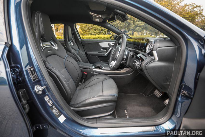 GALERI: Mercedes-AMG A35 4Matic Edition 1 W177 — harga dari RM367k, 2.0L turbo, 306 PS / 400 Nm Image #1158903