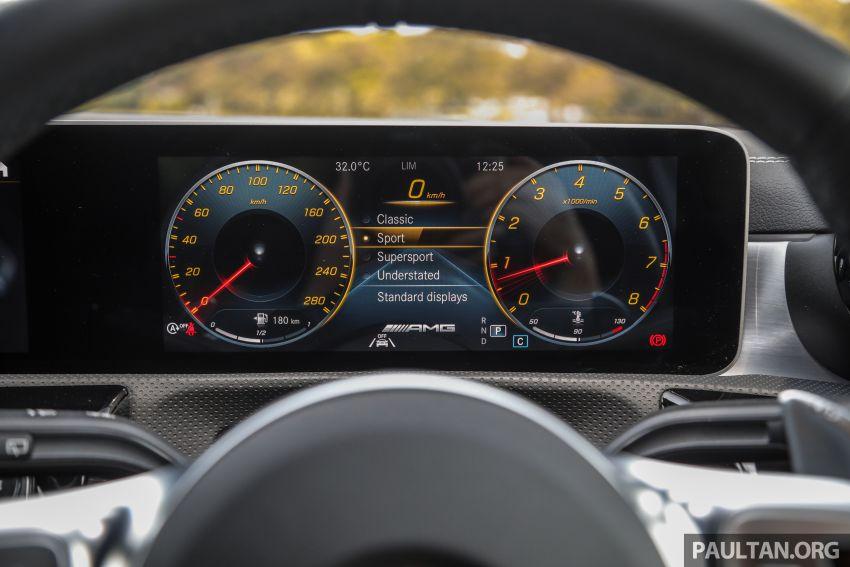 GALERI: Mercedes-AMG A35 4Matic Edition 1 W177 — harga dari RM367k, 2.0L turbo, 306 PS / 400 Nm Image #1158839