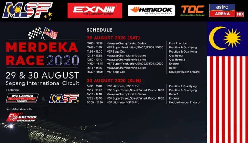 Merdeka Race 2020 happens this weekend – watch MSF Enduro + MCS live on FB, Astro delayed telecast Image #1169016