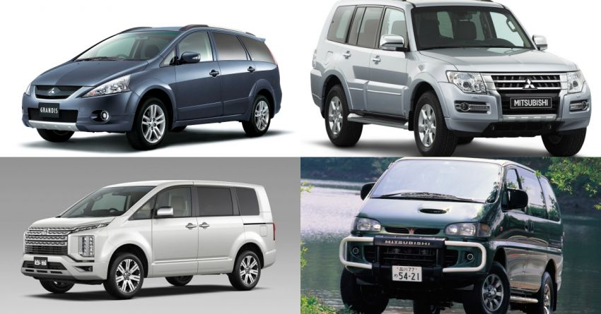 Mitsubishi Grandis, Delica, Space Gear, Pajero – a long line of seven-seaters before the upcoming Xpander Image #1164930