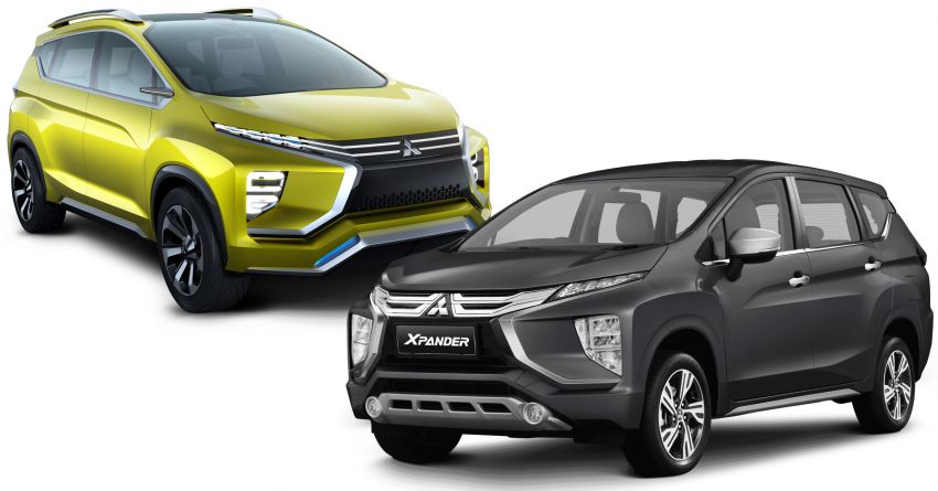 Mitsubishi Xpander – from XM Concept to production Image #1168961