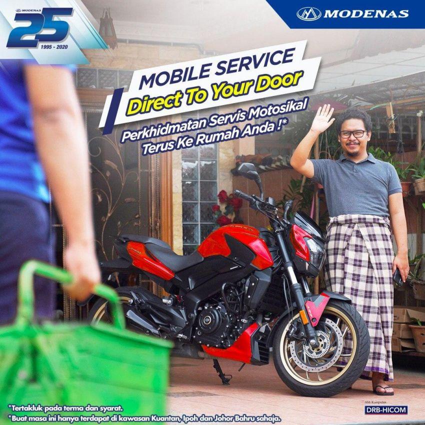 Modenas sediakan khidmat servis motosikal bergerak Image #1160610