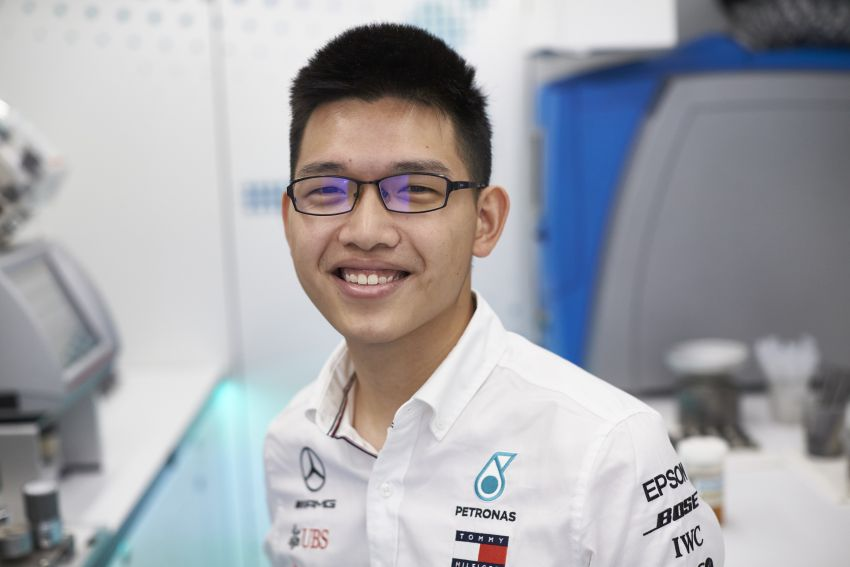 Petronas Trackside Fluid Engineers – we talk to En De Liow and Stephanie Travers about Formula 1 in 2020 Image #1163452
