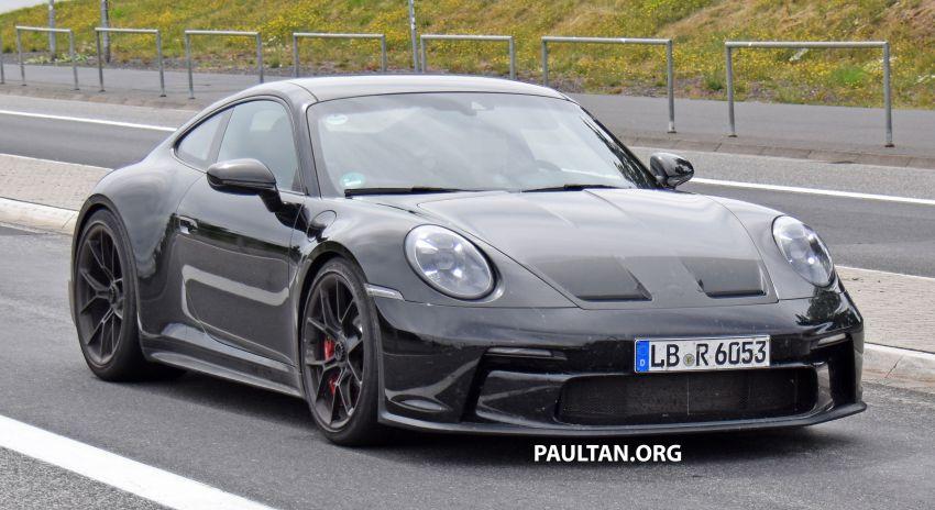 SPIED: 992 Porsche 911 GT3 Touring undisguised Image #1155674